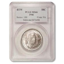 Booker T. Washington Commemorative Half Dollar 1946 PCGS MS 66