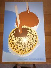 ORIGINAL Herman Miller Picnic Poster 2003 Caramel Apples MINT