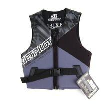 NEW Jet Pilot Luxe Comp Black Womens Wakeboard Waterski Life Jacket Vest Ret$100