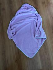 Baby Kuschel Badetuch/Decke mit Kapuze