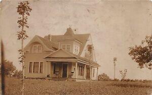 H48/ Cummingsville Tennessee Postcard RPPC 1909 Home Residence