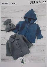 Baby lavoro a maglia motivo DK UKHKA [158]