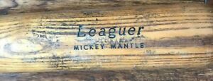 MICKEY MANTLE IT'S A LOUISVILLE H&B VINTAGE BASEBALL BAT NICE