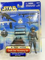Star Wars: A New Hope: Death Star Accessory Set w/ Death Star Trooper & Droids