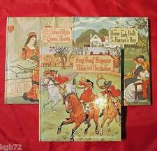 Ralph Caldecott Illustrated Set of 3 Robert Frederick Edition HB Children Books