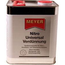 Nitroverdünnung, Meyer, Universalverdünnung, Verdünner, Pinselreiniger, 3 Liter