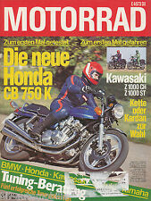 Motorrad 24 78 Vespa 50 N Special CB 750 K Z 1000 CH ST Kreidler Van Veen 1978