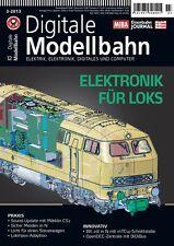 MIBA Eisenbahn Journal Digitale Modellbahn 12 Elektronik für Loks 3-2013