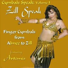 NEW Zill Speak - How to Play Finger Cymbals from A(lmee) to Z(ills) (Audio CD)