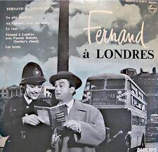 FERNAND RAYNAUD 3 à londres LIVE LP 25cm PHILIPS la pate feuilletée/le vase VG++