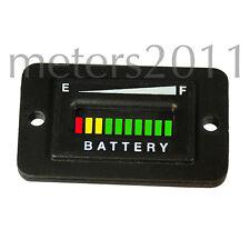 36 Volt Battery Indicator for Solar, Golf, Boat, Forklift, ATV, etc - RECT