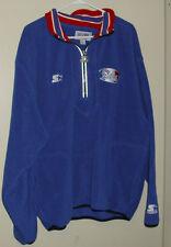 Vintage New England Patriots Starter Fleece Jacket Mens Large XL Throwback NFL