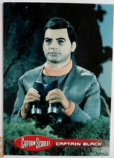 CAPTAIN SCARLET - Individual Trading Card #40, Captain Black - Unstoppable Cards