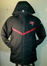 NEW NIKE NFL On Field Tampa Bay Buccaneers Storm-Fit Game Day Jacket Mens Large