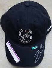 Pavel Zacha Autographed Black Nhl Hat Devils Uda Authentication Signed Auto Rare