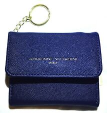 Mini Wallet Adrienne Vittadini Studio Navy Saffiano Coin Purse Blue