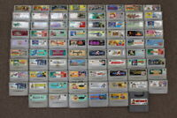 WHOLESALE LOT of 78 Nintendo Super Famicom Games SFC SNES Japan Import LOT #1