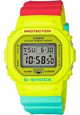 Casio DW5600CMA-9 G-Shock Men's Watch Yellow, Orange, Teal 42.8mm Resin