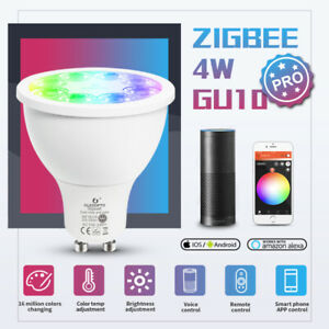 GLEDOPTO GU10 Smart RGB Bulb Wireless APP Wifi LED Lamp Remote Light for Alexa