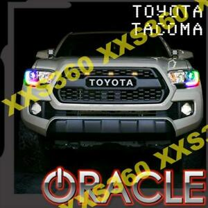 ORACLE for Toyota Tacoma 16-19 Headlight DRL Kit Upgrade ColorSHIFT Dynamic RGBW