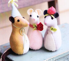 PATTERN - Pickle Mouse - cute felt softie toy PATTERN from May Blossom