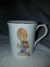 "Precious Moments ""Blessed are the Peacemakers"" Cup/Mug 1984"