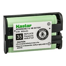 Kastar Ni-MH 900mAh Rechargeable Battery for Panasonic HHR-P107 Cordless Phone