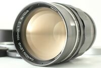 【N MINT ++】 Canon 100mm f/2 Lens Leica Screw Mount LTM L39 Rangefinder Japan 645