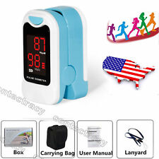 Finger Tip Pulse Oximeter SpO2 Heart Rate monitor blood oxygen Meter Sensor LED