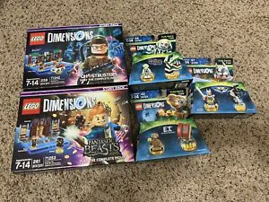 LEGO Dimensions Lot of 5 ET Beetle Juice.. etc. New Sealed