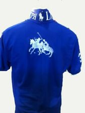 Polo Ralph Lauren Men's Big Ponies Custom Slim Fit Mesh Polo Shirt