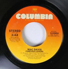 Country 45 Mac Davis - Forever Lovers / The Love Lamp On Columbia