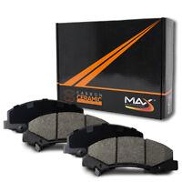 2004 Audi A4 w/312mm Front Rotor Dia Max Performance Ceramic Brake Pads F