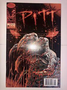 Pitt # 5 NM (1994, Image Comics) Near Mint Newsstand Low Print Run Dale Keown