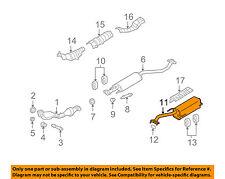 NISSAN OEM 07-12 Versa 1.8L-L4-Muffler 20100ZR71A
