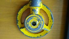 Vintage Can't Beat 'Em Nelson Peoria Yellow  Lawn Sprinkler    P3