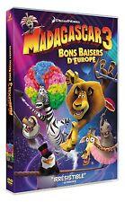 DVD *** MADAGASCAR 3 - Bons Baisers d'Europe  ***  ( neuf sous blister )