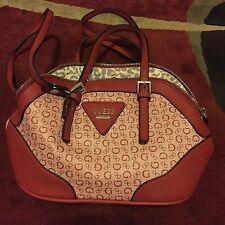 Guess By Marciano Dome Satchel Purse Handbag Signature Mini