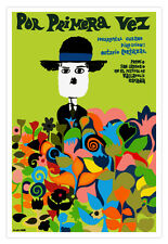"Cuban movie Poster""Por Primera Vez.For the first time""CHARLIE Chaplin.Eden art"