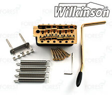 Wilkinson ® vintage 1954 guitar tremolo bridge replica WVC gold finish