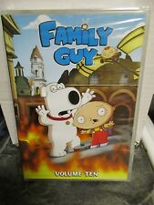 FAMILY GUY VOLUME 10 -  FACTORY SEALED DVD !!!