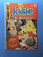 JOSIE and THE PUSSYCATS! #61 The Ghostly Guardian! Archie GIANT Series1972
