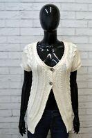 Cardigan Maglione Donna TOMMY HILFIGER Taglia S Maglia Pullover Sweater Woman