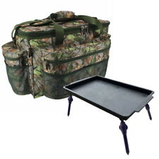 Fishing Tackle Bag CAMO Holdall and Bivvy Table Extendable Legs NGT 093C