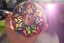 Tumblr teen room decor mandala design cd art