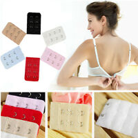 Lots Bulk 5pcs Bra Extender Strap Extension 2 Hooks Women's Bra Set Accessory JP