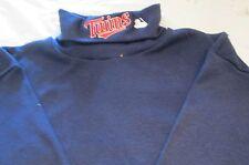 MLB Minnesota Twins Long Sleeve Turtle Neck T-Shirt Small Embroidery logo