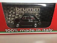 BRUMM 1:43 Fiat 500L chiusa 1968-1972 marrone R465-11