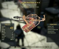Fallout 76 (PC) LEGACY TWO SHOT FLAMER (EXPLODING, 15% FASTER VATS METER)