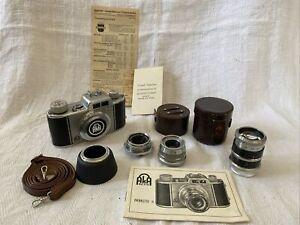 AKA AKARETTE II Kamera-Set, 3x Objektive 35, 50, 75mm, Anleitung (AKA0121)